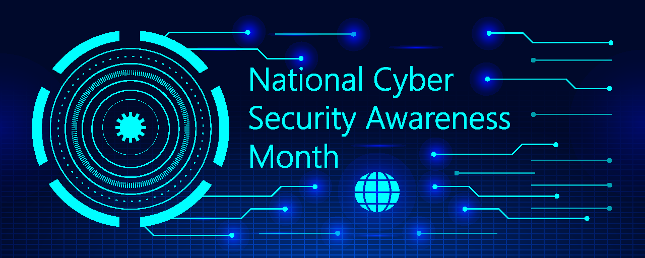 National Cyber Security Awareness Month hero image
